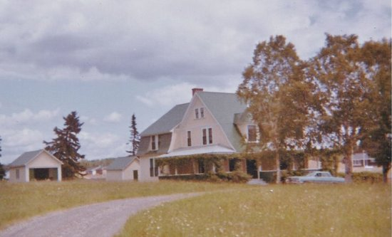 New Richmond, Canada: My grandfather RL Montgomery's house built in 1904, demolished in 1969