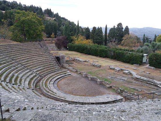 Museo Civico Archeologico: Римский театр в Фьезоле