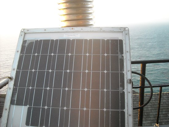 Solar panel for the Point Sur Lighthouse