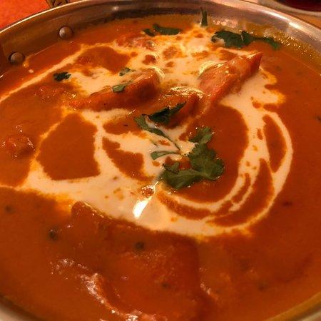 Schmackhaftes indisches Essen