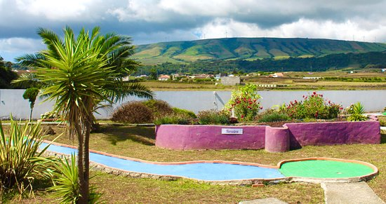 Praia da Vitoria, Portugal: #minigolf for fun