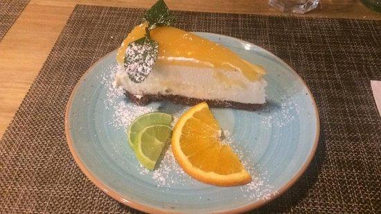 La Coppola : Tarta de queso y limon