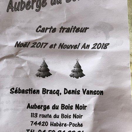 Habere-Poche, France : Auberge du Bois Noir