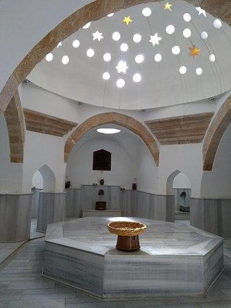 Interior of beautifully renovated 16th-century Buyuk Hamam