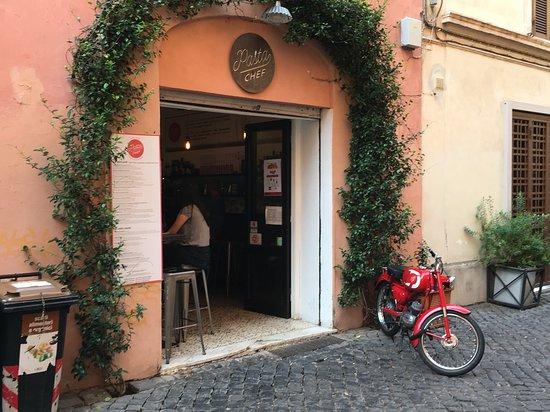Pasta Chef entrance