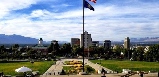Salt Lake City, UT: View from the state capitol
