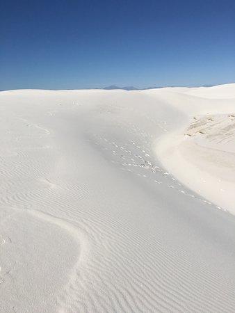 The next dune always looks like it is far away, but it is not!