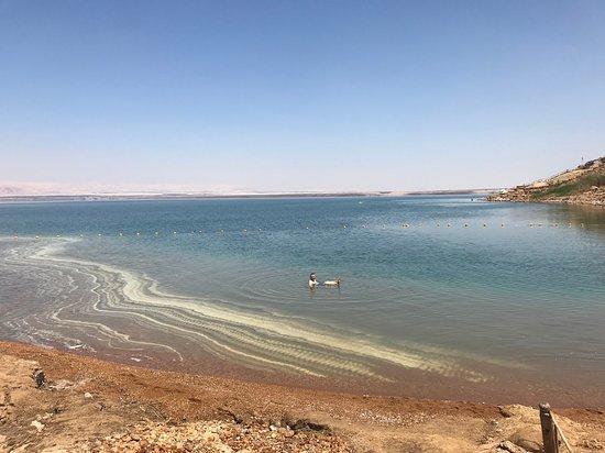 the beach and Dead Sea