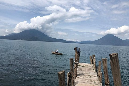 Lake Atitlan and Villages from Antigua