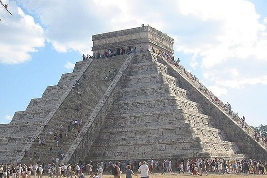 Chichen Itza Tour with Cenote Swim from...
