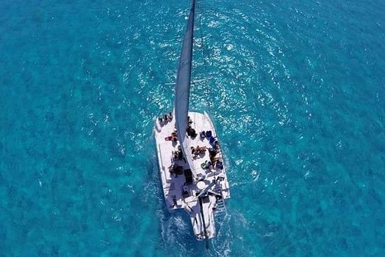 Trimaran Sightseeing Cruise in Cancun