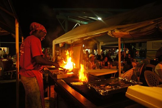 Oistin's Fish Fry and The Barbados...