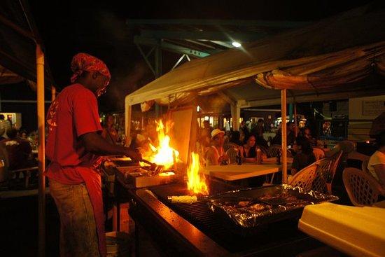 Oistin's Fish Fry y The Barbados...