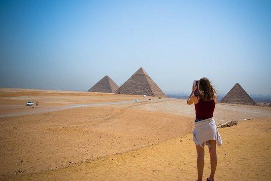 吉萨金字塔,孟菲斯和萨卡拉一日游与开罗午餐