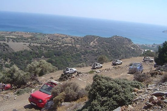 Jeep Safari to the South of Crete...