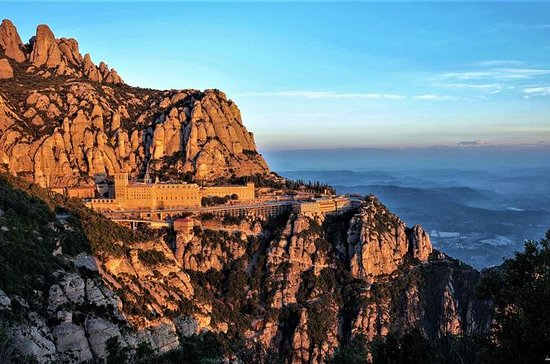 Montserrat and Sitges Easy Hike with...