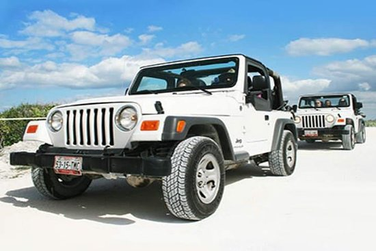 Jeep Tour and Snorkel in Cozumel from...