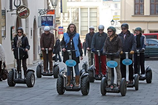 Tour in Segway di Brno With a Touch