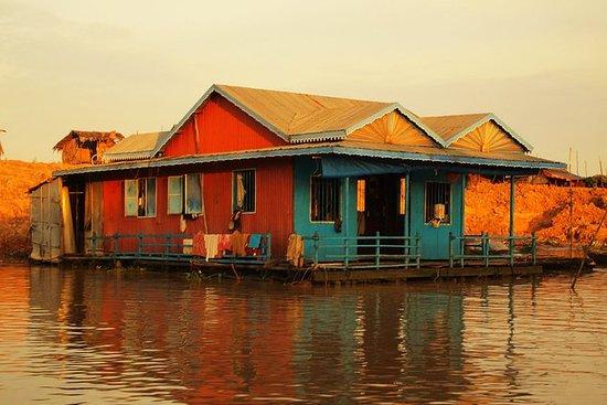 Sunset Cruise på Tonle Sap