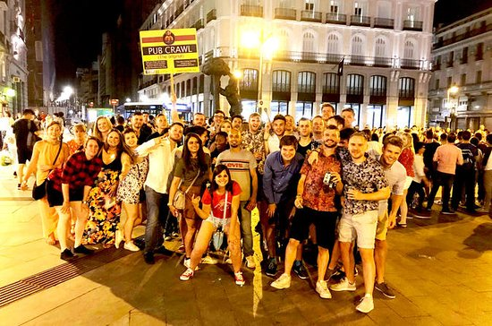 Pub Crawl i Madrid