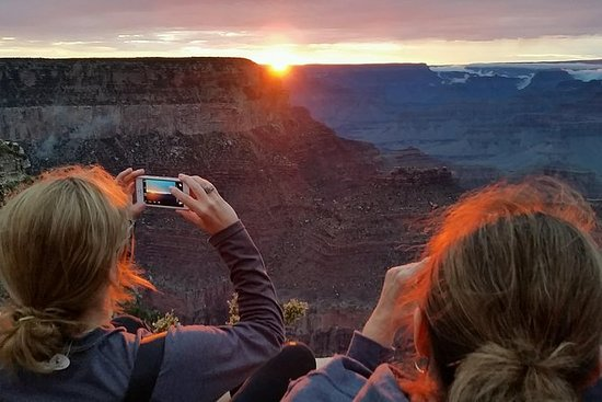 Tour al tramonto del Grand Canyon da