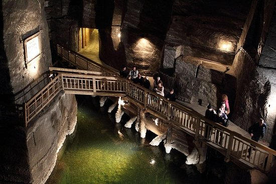 Salt Mine Guides Tour in Wieliczka...