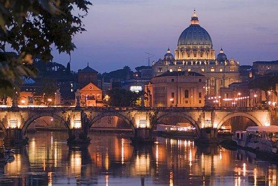 Recorrido nocturno por Roma con pizza...