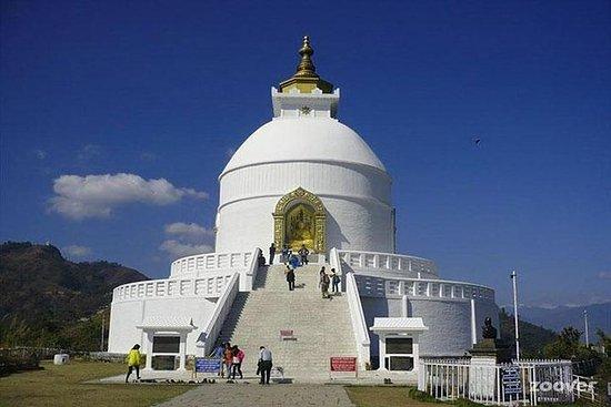 The World Peace Pagoda in Pokhara