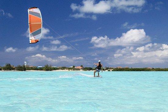 Lección privada de kiteboarding en...