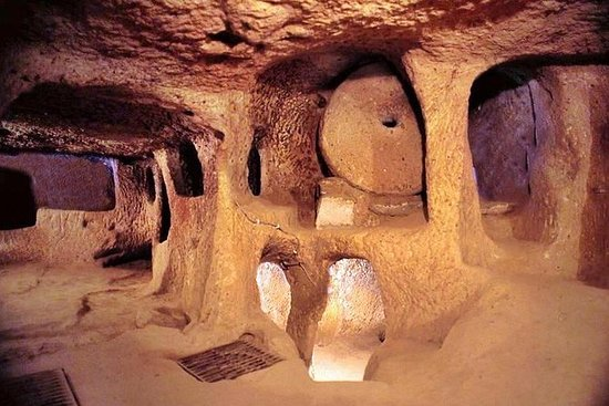 Soganli Valley Kaymakli Underground ...