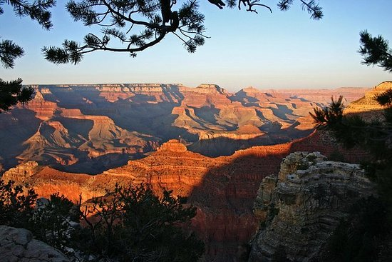 Excursion au Grand Canyon au coucher...