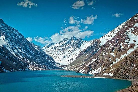 Inca Lagoon i Portillo Andes...