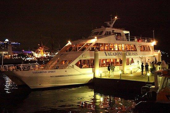 Cruzeiro retrô no porto de Sydney