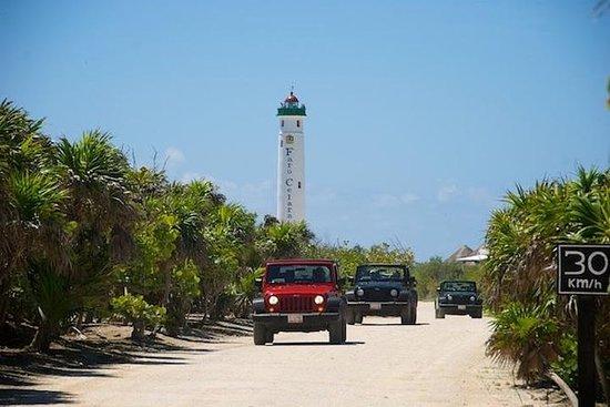 Recorrido en jeep a Cozumel desde...