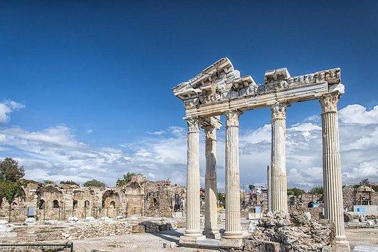 Antigüedades de Side y Aspendos...