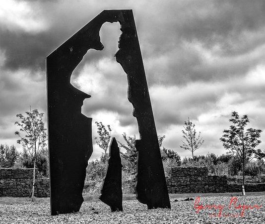 Auchinleck, UK: a cutout of a miner