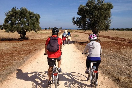 Recorrido en bicicleta por Puglia...