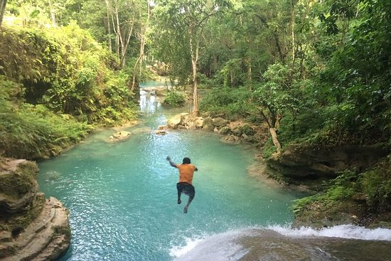 Blue Hole and River Tubing Combo from...