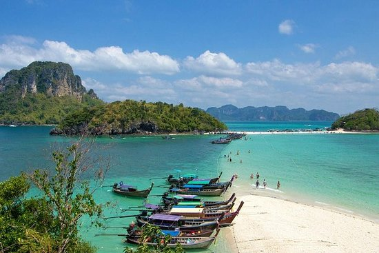 Full-Day Krabi Island-Hopping Tour med...