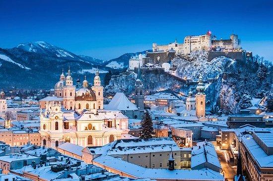 Viagem de um dia a Salzburgo saindo...