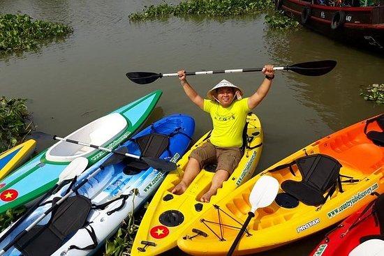 Découvrez le Mékong à vélo et en kayak