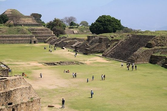 Monte Alban Archaeological Site and...