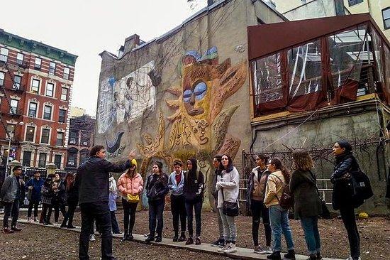 ニューヨーク市ウォーキングツアー:イーストビレッジの根本的行動主義