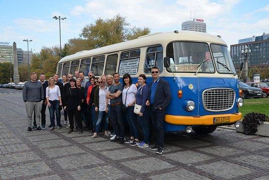 华沙市观光复古巴士