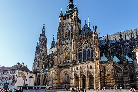 Praha slott i detalj