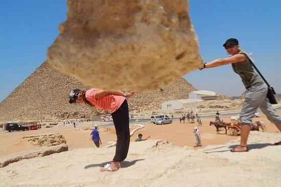 Halvdagstur til Giza-komplekset sfinx...