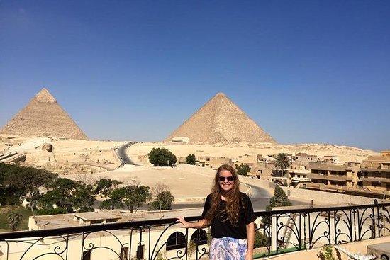 Halbe Tag Gizeh Pyramiden mit einigen...