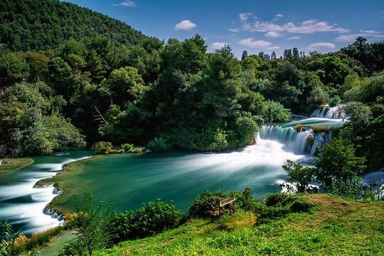 From Zadar: Krka Waterfalls and...