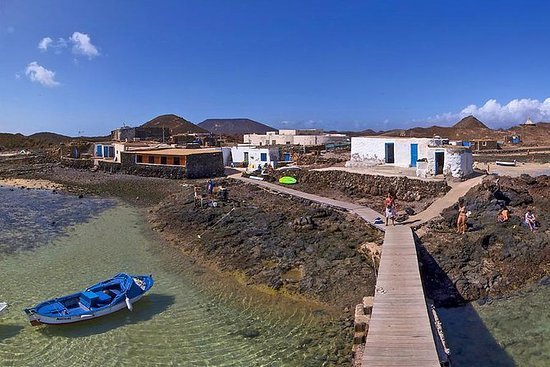 Lanzarote Los Lobos catamarantrip met ...