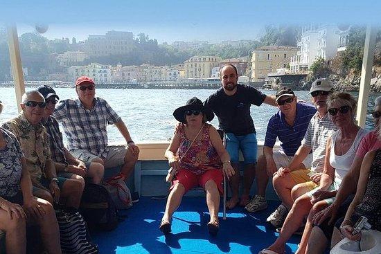 Pesca en la bahía de Sorrento y Capri